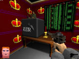 Voxelstein 3D Windows A code of four well known numbers opens the safe.