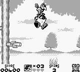 Taz-Mania Game Boy Let go of me!