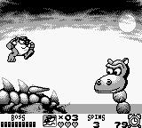 Taz-Mania Game Boy Boss fight