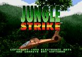 Jungle Strike Genesis Title Screen