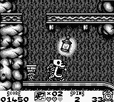 Taz-Mania Game Boy AAAAAAARGH!