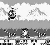 Taz-Mania Game Boy The final boss fight