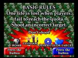 Point Blank PlayStation Basic rules of the game