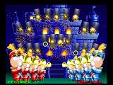 Point Blank PlayStation The final stage, shoot all 21 targets to ignite the fireworks