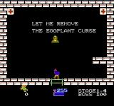 Kid Icarus NES Fortunately, I have found the hospital, and the nurse is kind enough to cure my horrible condition...