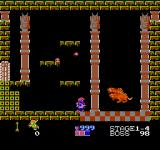 Kid Icarus NES This is Twin-bellows, the boss in the first fortress.