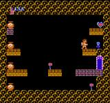 Kid Icarus NES You have to open the pots in the correct order, or the God of Poverty will show his ugly face. If you open the pot he is in, you don't get any treasures from the room.