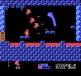 Kid Icarus NES The second boss. Some centurions are helping me fight him. Unfortunately, they are rather worthless, and will die in a matter of seconds.