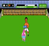 Mike Tyson's Punch-Out!! NES The different color on me means that I'm tired and can't fight back.