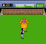 Mike Tyson's Punch-Out!! NES King Hippo's pants has dropped. Now is the time to give him a beating!