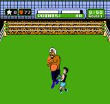 Mike Tyson's Punch-Out!! NES Many opponents give away some kind of hint before attacking. Great Tiger here, for example, has a diamond in his turban, that flashes before he's going to strike.