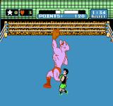 Mike Tyson's Punch-Out!! NES Sidestepping to avoid Soda Popinski's fearsome uppercut.