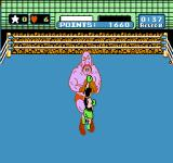 Mike Tyson's Punch-Out!! NES Soda Popinski is stunned, and I can hit him several times in a row.