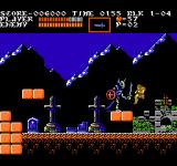 Castlevania III: Dracula's Curse  NES The first boss is this skeleton warrior.