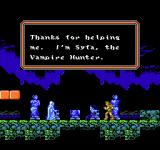 Castlevania III: Dracula's Curse  NES I have met Syfa, one of the game's companions. If I take her along, I can switch between her and Trevor whenever I want to, even in the middle of a level.
