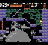 Castlevania III: Dracula's Curse  NES Wall-climbing is Grant's special ability.