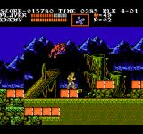 Castlevania III: Dracula's Curse  NES A giant frog in the swamp.