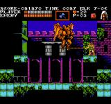 Castlevania III: Dracula's Curse  NES Another boss-fight. It's some kind of horned demon I have to give a whipping.