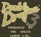 Double Dragon III: The Sacred Stones Game Boy Title Screen