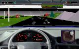 Road & Car: Test Drive III - The Passion: Add-On Disk #1 DOS Rainy weather