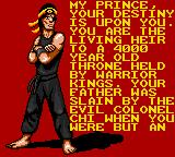 Surf Ninjas Game Gear Introduction story