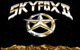 Skyfox II: The Cygnus Conflict Amiga Title screen