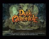 Dark Cloud 2 PlayStation 2 Title screen (PAL version)
