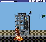 Rampage World Tour Game Boy Color You destroyed the car.