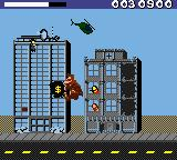 Rampage World Tour Game Boy Color The people shoot you .