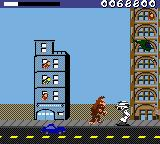 Rampage World Tour Game Boy Color The state sends robo police to kill you.