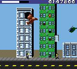 Rampage World Tour Game Boy Color You can jump from building to building.