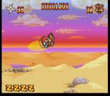 Zero the Kamikaze Squirrel SNES Jump, Zero, jump!