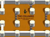 "Boxhead: The Rooms Browser Starting the level ""The Columns""."