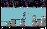 Thundercats Commodore 64 An enemy blocks the platform and there is no way for me to get rid of him