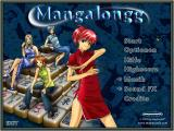 MangaJongg Windows Main menu (normal)