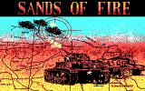Sands of Fire DOS Title Screen