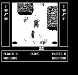 Ikari Warriors II: Victory Road PC Booter Watch out for assorted enemies! (Hercules Monochrome)