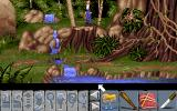 Flight of the Amazon Queen Amiga In the heart of the Amazon jungle.