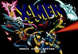 X-Men Genesis Title Screen