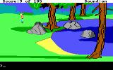 King's Quest II: Romancing the Throne DOS Walking along the countryside