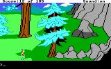 King's Quest II: Romancing the Throne DOS Near some rocks