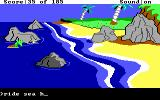 King's Quest II: Romancing the Throne DOS A giant sea horse!