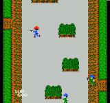 Front Line NES The player can walk in all directions.
