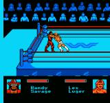 WWF King of the Ring NES Engaged in a grapple