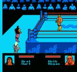 WWF King of the Ring NES Walking outside the ring