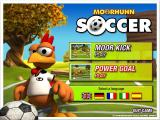 Crazy Chicken: Soccer Windows Menu screen