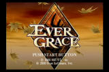 EverGrace PlayStation 2 Title screen