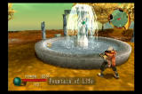 EverGrace PlayStation 2 The fountain restores energy.