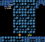 Metroid NES Morph into a ball to pass through narrow passages.