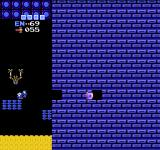 Metroid NES Another hidden passage. There are many of these in this game.